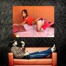 Natalia E Sexy Panties Lily C Hot Model Huge 47x35 Print Poster