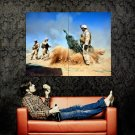Howitzer Artillery Military Weapon Huge 47x35 Print Poster