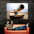 M1 Abrams Barrel Military Weapon Huge 47x35 Print Poster