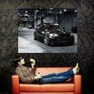 BMW 135i Coupe Car Black Huge 47x35 Print Poster