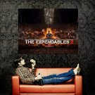 The Expendables 2 Movie Last Supper Huge 47x35 Print Poster