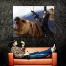Abraham Lincoln Weapon Bear Art Huge 47x35 Print Poster