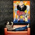 American Dad Stan Francine Rodger TV Huge 47x35 Print Poster
