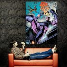 Juggernaut Vs Sentinel Marvel Comics Art Huge 47x35 Print Poster