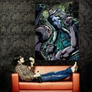 Punisher Rain Night Marvel Comics Art Huge 47x35 Print Poster