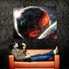 Planets Stars Space Huge 47x35 Print Poster