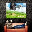 Howl S Moving Castle Anime Art Huge 47x35 Print Poster