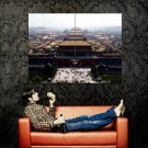 Beijing Ancient City China Cityscape Huge 47x35 Print Poster