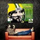 Aaron Rodgers Art NFL Football Sport Huge 47x35 Print Poster