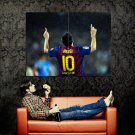 Lionel Messi Barcelona Football Soccer Huge 47x35 Print Poster