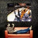 Kobe Bryant Reverse Layup Lakers NBA Huge 47x35 Print Poster