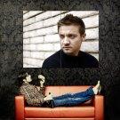 Jeremy Renner Portrait Movie Actor Huge 47x35 Print Poster
