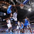 Kevin Durant Monster Dunk Vs Dallas NBA 32x24 Print POSTER