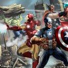 The Avengers Marvel Comics Art 32x24 Print POSTER