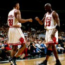Michael Jordan Scottie Pippen Bulls Legends 32x24 Print POSTER