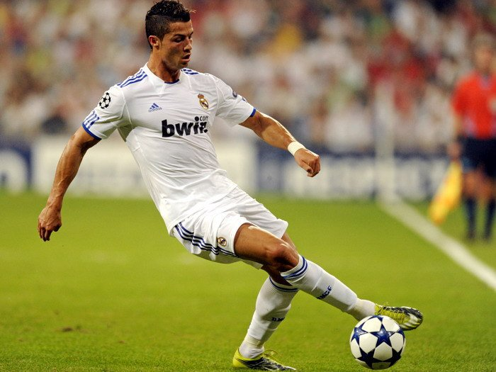 Cristiano Ronaldo Real Madrid Football 32x24 Print POSTER