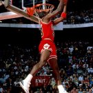 Michael Jordan Chicago Bulls Dunk NBA 32x24 Print POSTER