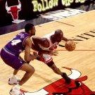 Michael Jordan Vs Utah Jazz Finals NBA 32x24 Print POSTER