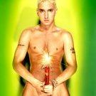 Eminem Naked Dynomite Rap Hip Hop Music 32x24 Print POSTER