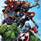 Avengers Characters Comics Art Marvel Movie 32x24 Print POSTER