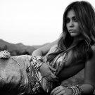 Miley Cyrus Hot BW Singer Music 32x24 Print POSTER