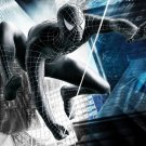 Black Spider Man Web Movie 32x24 Print POSTER