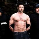 Gerard Butler Shirtless Police Actor Movie 32x24 Print POSTER