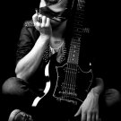 The Bloody Beetroots BW Guitar Mask Electro House 32x24 Print POSTER