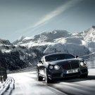 Bentley Continental GT V8 Car Mountains 32x24 Print POSTER