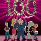 American Dad Characters 100 TV Series 32x24 Print POSTER