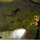 Cave Painting Banksy Graffiti Street Art 32x24 Print POSTER