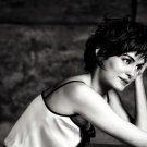 Audrey Tautou French Actress BW 32x24 Print POSTER