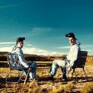 Breaking Bad Desert Chairs TV Show 32x24 Print POSTER