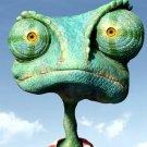 Rango Chameleon Face Eyes Art 32x24 Print POSTER