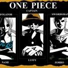One Piece Nami Luffy Zorro Anime Manga Art 32x24 Print POSTER
