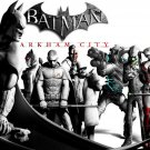 Batman Arkham City Characters Art Video Game 32x24 Print POSTER