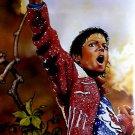 Michael Jackson Painting Art Music 32x24 Print POSTER