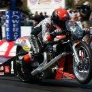 Harley Davidson Dragster Motorcycle Bike 32x24 Print POSTER