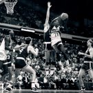 Dominique Wilkins Atlanta Hawks BW NBA Basketball 32x24 POSTER