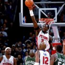 Big Ben Wallace Block Detroit Pistons NBA Basketball 32x24 POSTER