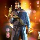 Gay Tony Art Uzi Grand Theft Auto Criminal Outlaw 32x24 POSTER