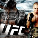 Georges St Pierre GSP Rush Lightning MMA Mixed Martial Arts 32x24 POSTER