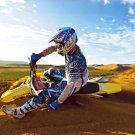 Suzuki RM Z450 Sand Sky Bike Motorcycle 32x24 POSTER