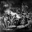 Pocahontas Saving John Smith S Life Native American Art Indians 32x24 POST