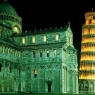 Cathedral Leaning Tower Of Pisa Around The World 32x24 POSTER