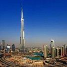 Burj Khalifa Dubai Skyscraper United Arab Emirates World 32x24 POSTER