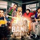 The Big Bang Theory Penny Leonard Sheldon Raj TV Series 32x24 Print POSTER