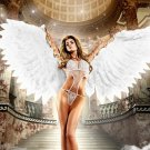 Elle Liberachi Angel Hot Girl Sexy Lingerie 32x24 Print Poster