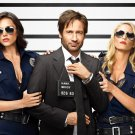 Californication Hank Moody David Duchovny Cop Girls 32x24 POSTER
