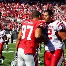 Cameron Heyward Handshake Andrew McDonald NFL Football 32x24 POSTER
